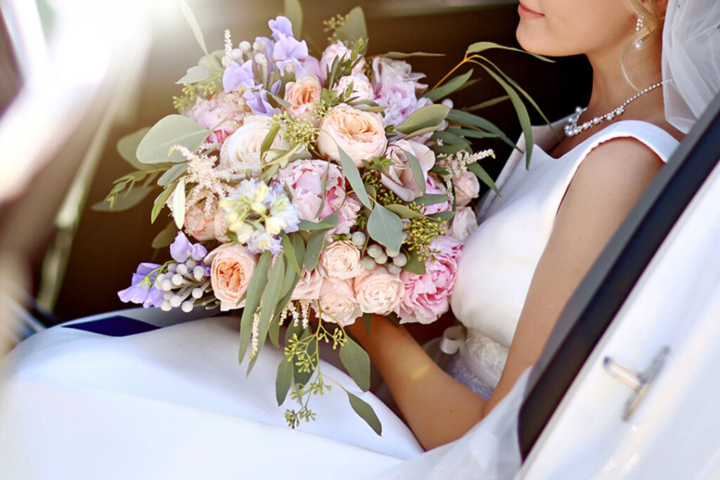 Wedding Flowers for the Bride