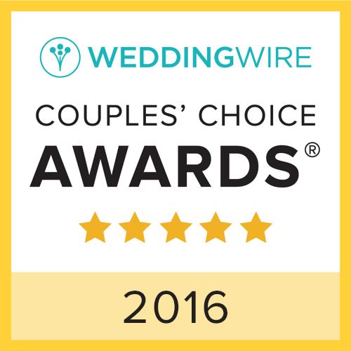 2016 WeddingWire Couples' Choice Awards