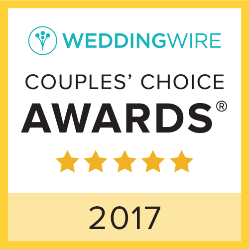 2017 WeddingWire Couples' Choice Awards