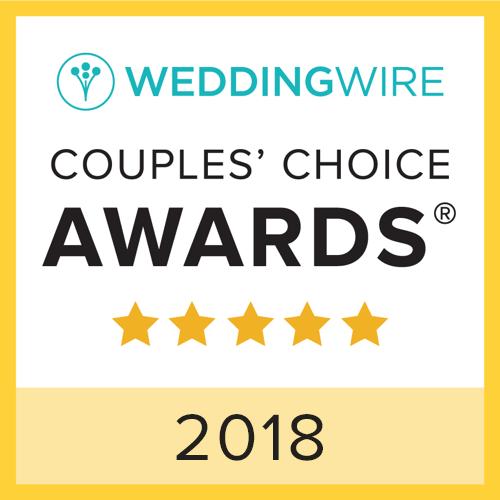 2018 WeddingWire Couples' Choice Awards