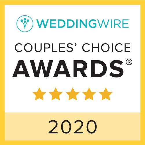 2020 WeddingWire Couples' Choice Awards